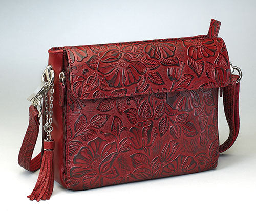 Black Cherry Concealed Carry Handbag