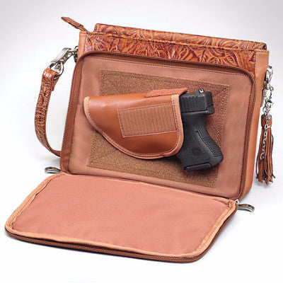 Concealed Carry Tooled holster bag