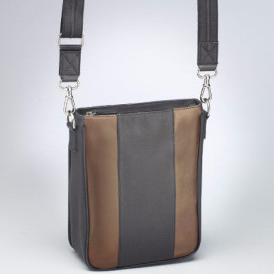 Bronze and Black Accented Retro Concealed Carry Bag