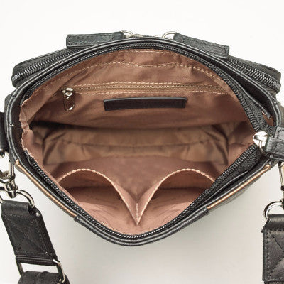 Retro Concealed Carry Bag - Compartment