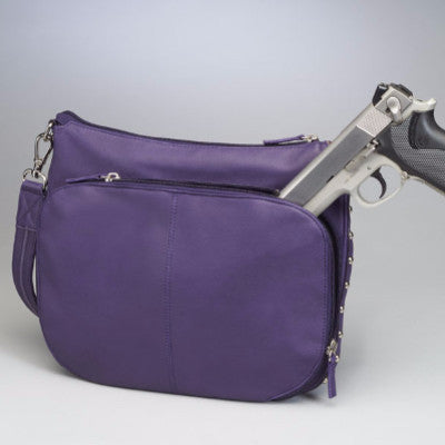 Concealed Carry Purse with gun in compartment