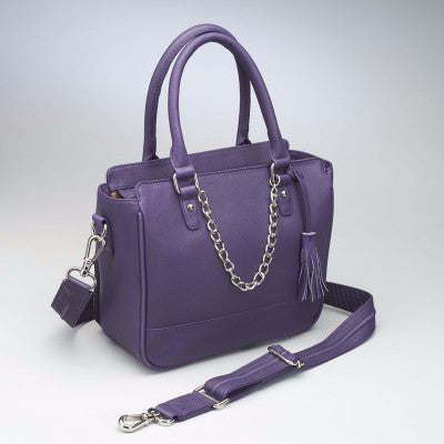 Purple Park Avenue Handbag