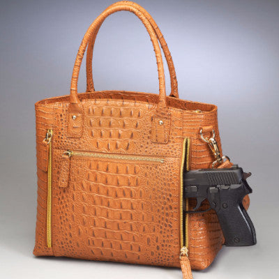 Gun Compartment for Crocodile Tote