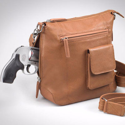 Saddle Tan Flat Sac Concealed Carry