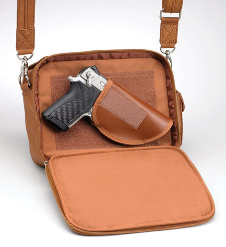 Boston Handbag with Concealed Carry Compartment