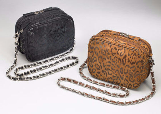 Leopard Print Concealed Carry Evening Purse