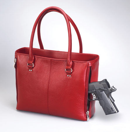 Concealed Purses for Women | Red Tote