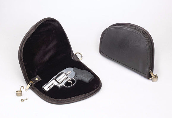 Leather Compact Carry Case