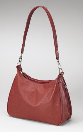 Red Hobo Handbag - Concealed Carry for Women