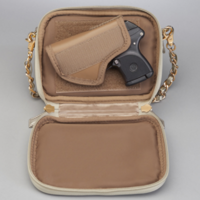 Gold Crossbody Pochette - Concealed Carry