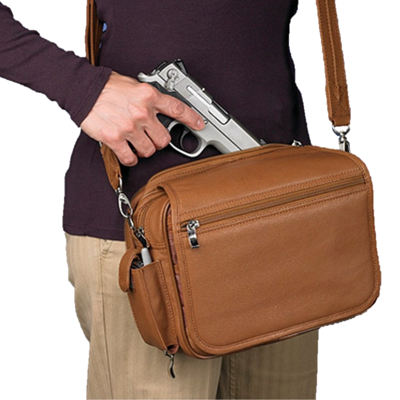 Classic Boston Handbag - Concealed Carry Handbag