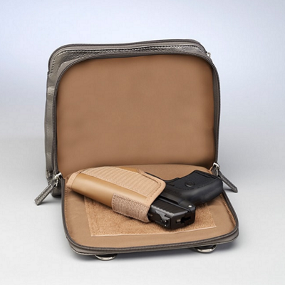 Crossbody Leather Organizer