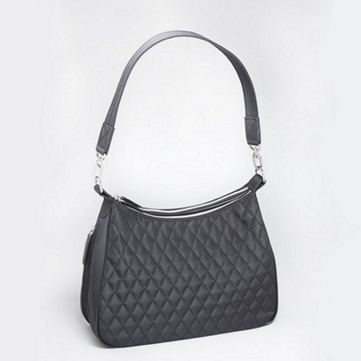 Quilted Microfiber Hobo