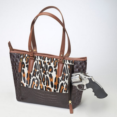 Leopard Print Shoulder Tote (Limited Edition)