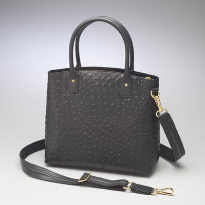 Concealed Carry Ostrich Tote