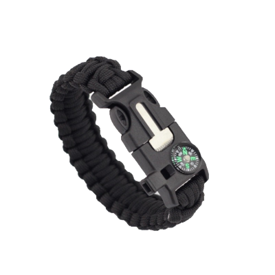paracord survival bracelet military green