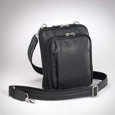 Black Concealed Carry Purse with Hidden Pocket