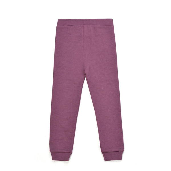 WoolLand Norway - Alesund Baby Girl Pants Raspberry (back)