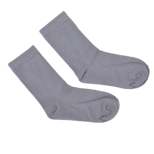 WoolLand Norway - Svelvik Merino Wool Socks - Light Grey (2)