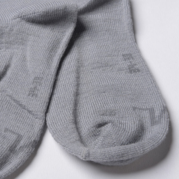 WoolLand Norway - Svelvik Merino Wool Socks - Light Grey (1)