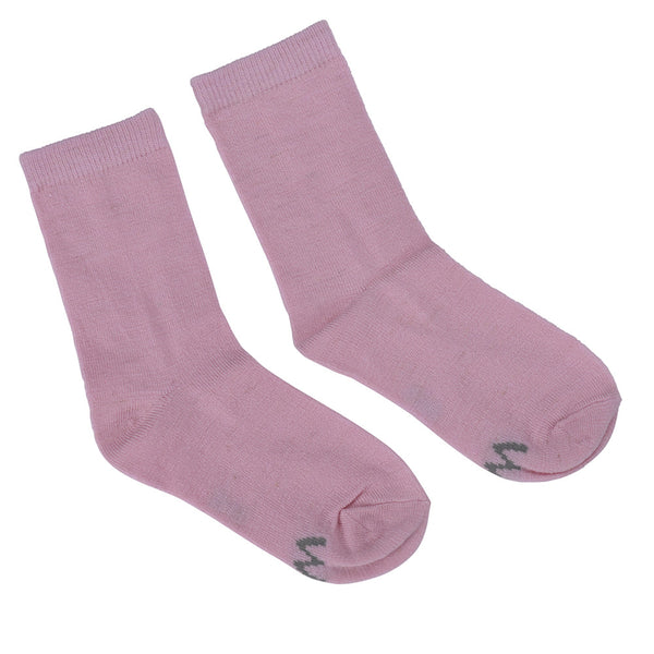 WoolLand Norway - Svelvik Merino Wool Socks - Pink Blush (1)