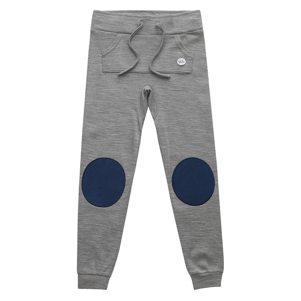 Bergen Merino Wool Boy Pants with Moose