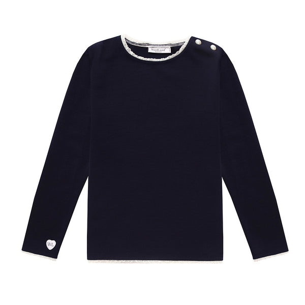 Bergen Merino Wool Girl's Jumper (9 - 14 Yrs)