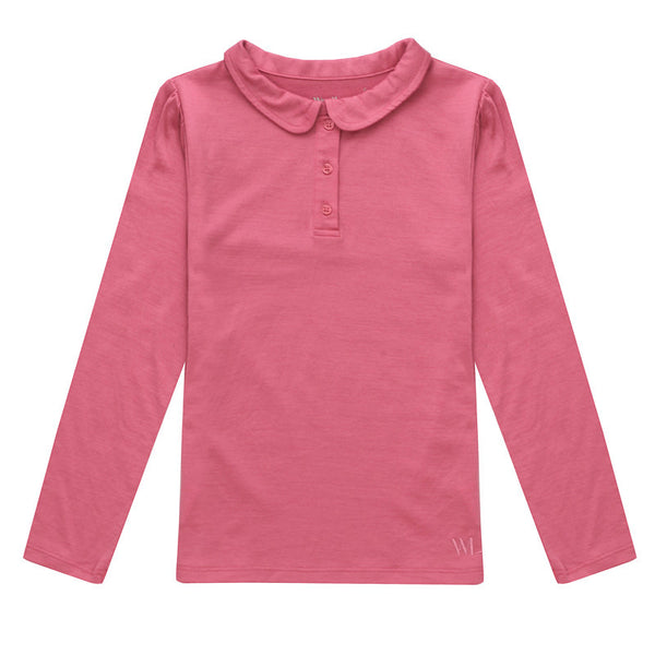 Halden Merino Wool Girl's Top (9 - 14 Yrs)
