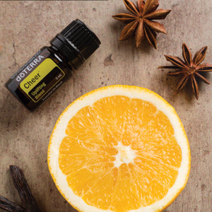 Essential Oil Blends - doTERRA Cheer