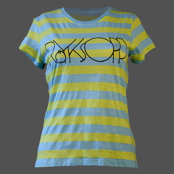 Yellow/Blue Striped T-Shirt