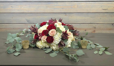 Bohemian Low floral arrangement