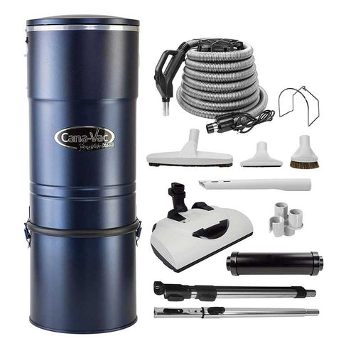 CanaVac XLS970 Signature Series Central Vacuum Cleaner with LS Performance Package Accessory Kit