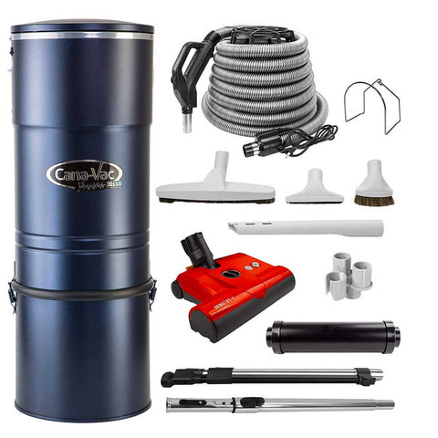 Cana-Vac XLS990 Signature Series Central Vacuum Cleaner with LS Supreme Accessory Kit