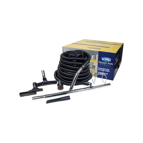 Central Vacuum Basic Air Hose Accessory Kit with Deluxe Tool Set