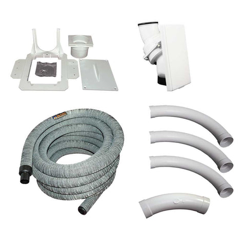 Hide-A-Hose Custom Installation Kit with Gray Sock