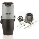 Nilfisk Supreme150 Central Vacuum with Deluxe Air Attachment Kit