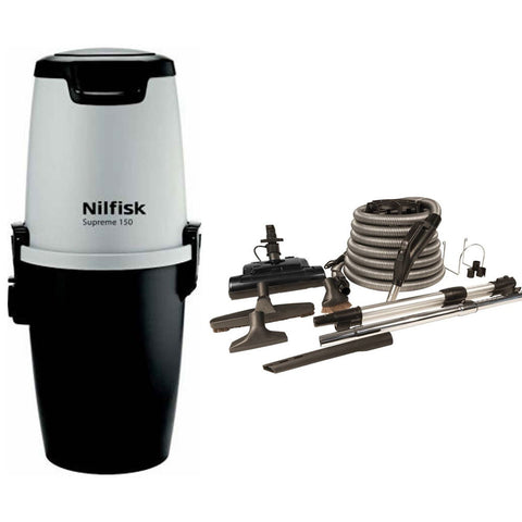 Nilfisk Supreme 150 Central Vacuum with Basic Electric Kit