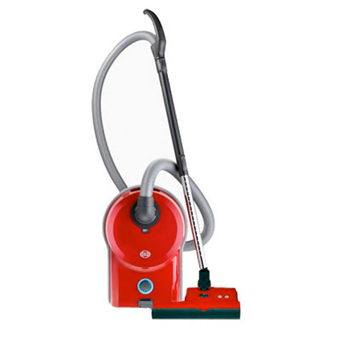 SEBO Airbelt D4 Canister Vacuum Cleaner - Red