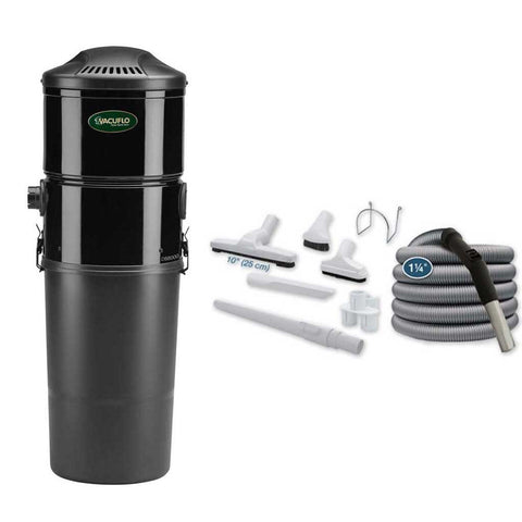 Vacuflo DB8000 Disposable Bag Central Vacuum with Basic Air Kit Canada