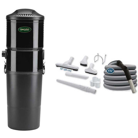 Vacuflo DB9000 Disposable Bag Central Vacuum with Basic Air Kit Canada
