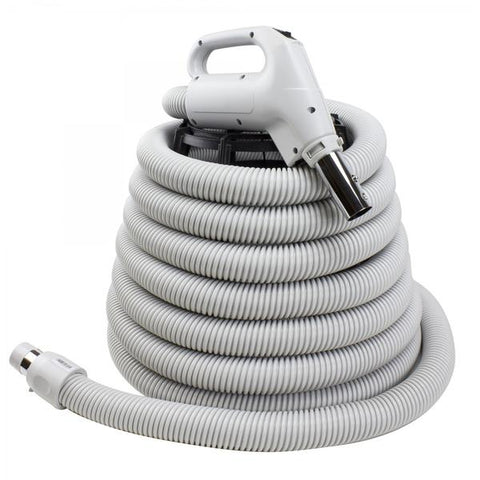 Complete Air Hose with Button for Central Vacuum