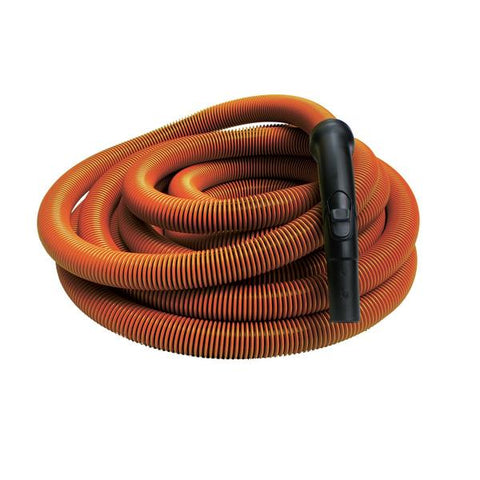 Orange Air Hose with End Cuff and Handle