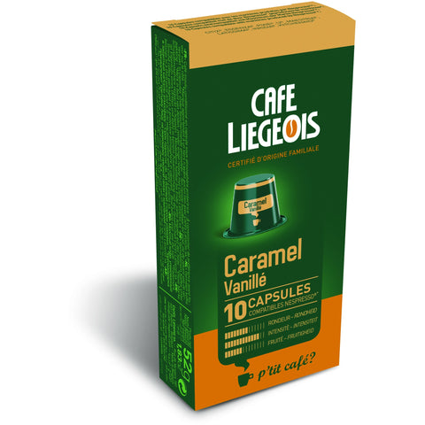 CARAMEL® Vanilla Caramel Alternative to Nespresso® Capsules x10
