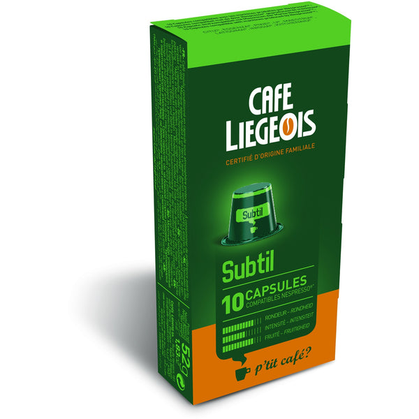 SUBTIL® Alternative to Nespresso® Capsules x10