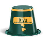 KIVU® du Congo Origin Alternative to Nespresso® Capsules x10