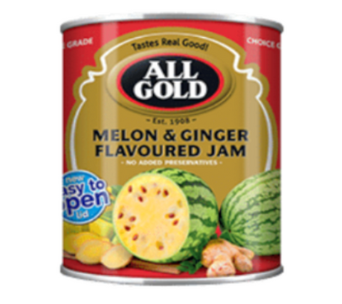 All Gold Melon and Ginger Jam [S]