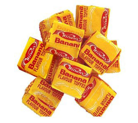 Wilson Banana Toffees