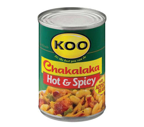 Koo Chakalaka Hot & Spicy [R]