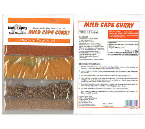 Nice 'n Spicy Mild Cape Curry [R]