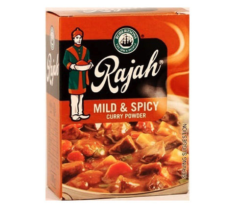 Rajah Curry Powder - Mild & Spicy [S]
